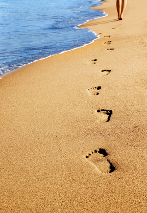 Welcome. footprints